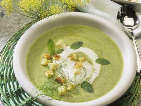 Brokkoli-Zucchini-Cremsuppe