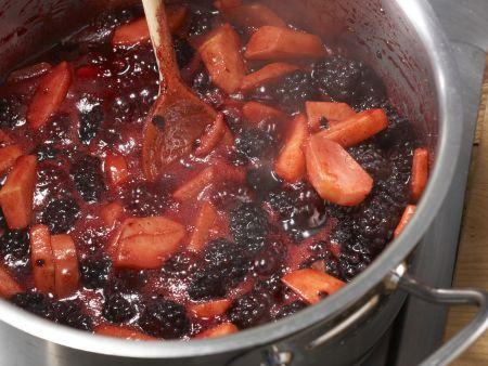 Brombeer-Apfel-Aufstrich: Zubereitungsschritt 5