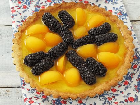 Brombeer-Aprikosen-Kuchen