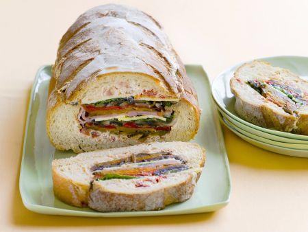 Brot mit Füllung