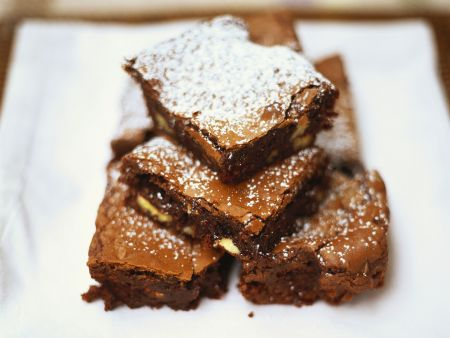 Brownies mit Mandeln