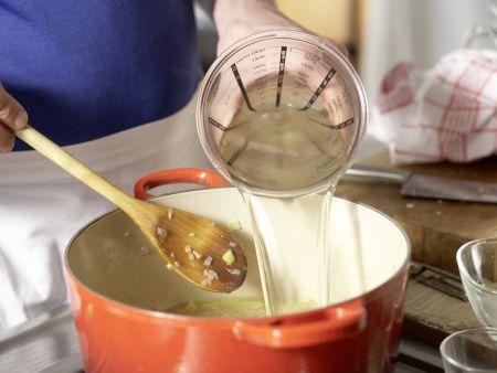 Brunnenkressesuppe: Zubereitungsschritt 5