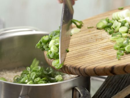 Buchweizen-Kräuter-Grütze: Zubereitungsschritt 3