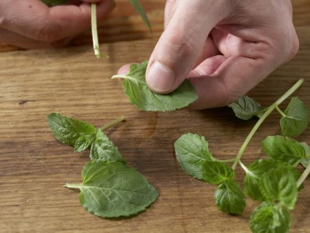 Bulgur-Fenchel-Salat mit Minze: Zubereitungsschritt 9