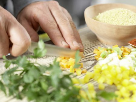 Bulgur-Gemüse-Pilaw: Zubereitungsschritt 2