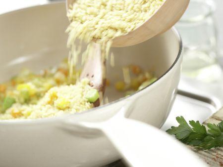 Bulgur-Gemüse-Pilaw: Zubereitungsschritt 5
