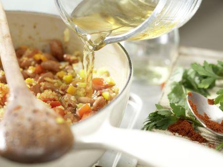 Bulgur-Gemüse-Pilaw: Zubereitungsschritt 7
