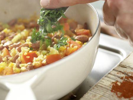 Bulgur-Gemüse-Pilaw: Zubereitungsschritt 9