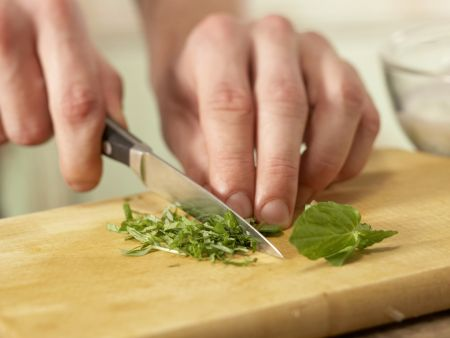 Bulgur-Melonen-Salat: Zubereitungsschritt 4