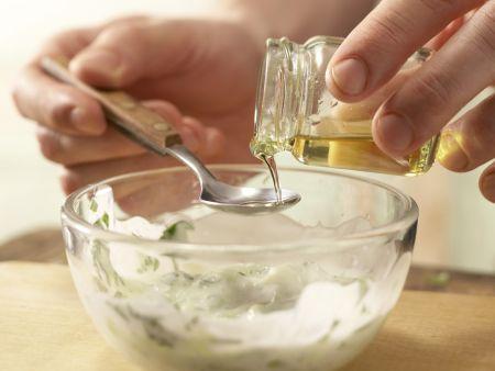 Bulgur-Melonen-Salat: Zubereitungsschritt 5