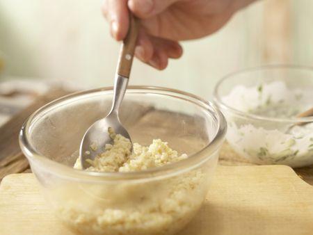 Bulgur-Melonen-Salat: Zubereitungsschritt 6