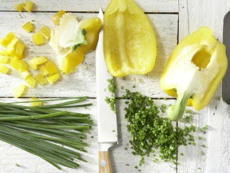 Bulgur-Paprika-Salat: Zubereitungsschritt 6