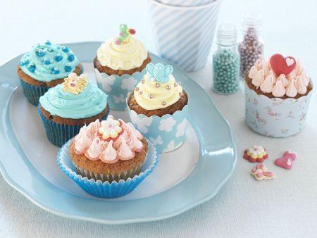 Rezept: Bunte Cupcakes