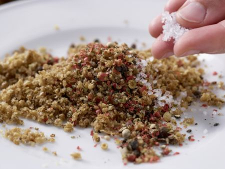 Bunte Frischkäsekugeln: Zubereitungsschritt 4