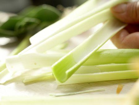 Bunte Gemüsenudeln: Zubereitungsschritt 2