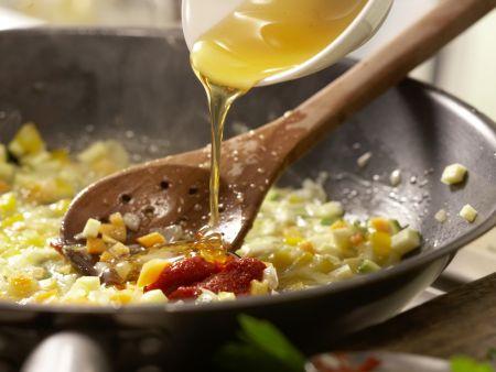 Bunte Weizenpfanne: Zubereitungsschritt 6