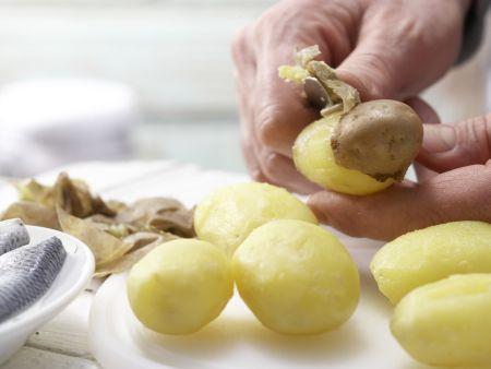 Bunter Kartoffel-Hering-Salat: Zubereitungsschritt 2