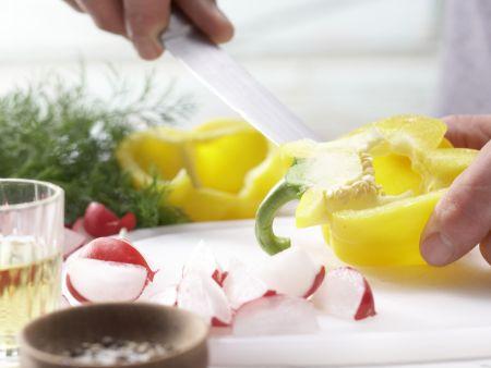 Bunter Kartoffel-Hering-Salat: Zubereitungsschritt 5