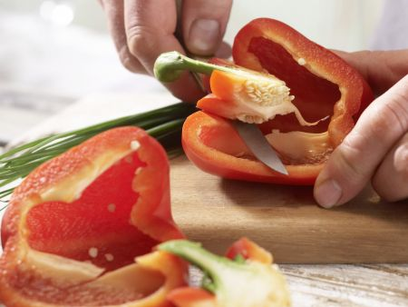 Bunter Wurstsalat – smarter: Zubereitungsschritt 1