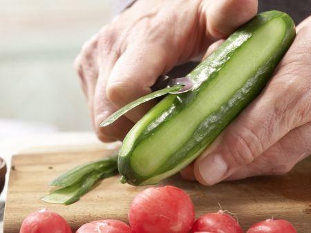 Bunter Wurstsalat – smarter: Zubereitungsschritt 3