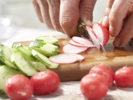 Bunter Wurstsalat – smarter: Zubereitungsschritt 4