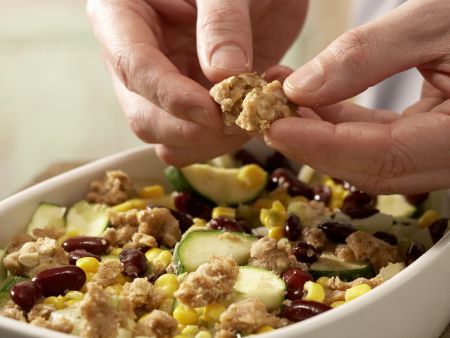 Buntes Gemüse-Gratin: Zubereitungsschritt 7