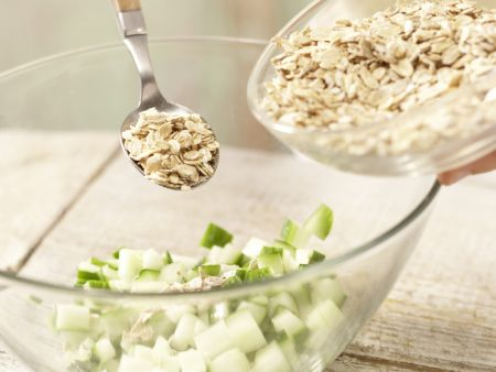 Buntes Gemüsemüsli: Zubereitungsschritt 2