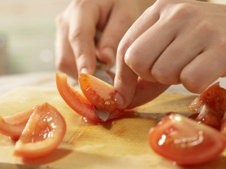Buntes Gemüsemüsli: Zubereitungsschritt 5
