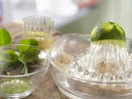 Buttermilch-Limetten-Creme: Zubereitungsschritt 2
