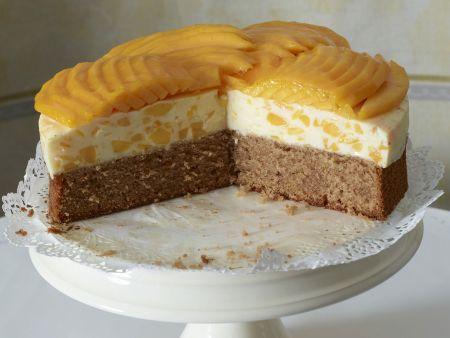 Buttermilch-Mango-Torte