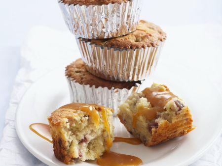 Buttermilch-Muffins mit Walnüssen und Feigen