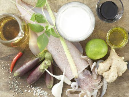 Calamari-Pfanne: Zubereitungsschritt 1