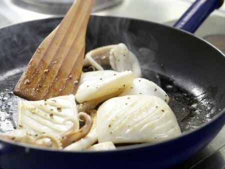 Calamari-Pfanne: Zubereitungsschritt 9