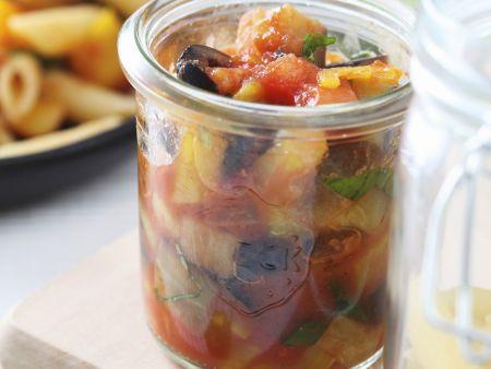Eingelegtes Gemüse aus Italien (Caponata)