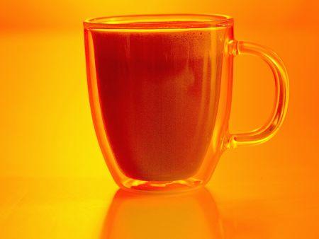 Cappuccino mit Orangenlikör