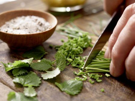 Carpaccio vom Schwertfisch: Zubereitungsschritt 8