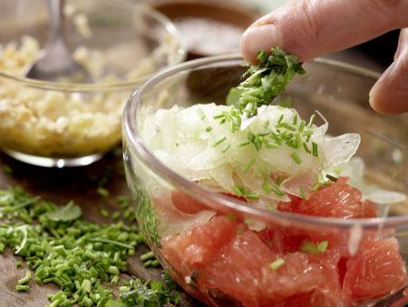 Carpaccio vom Schwertfisch: Zubereitungsschritt 9