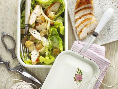 Cesar Salat mit Hähnchen