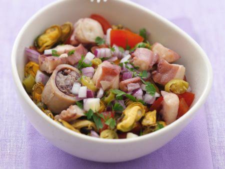 Rezept: Ceviche mit Meeresfrüchten