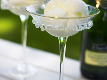 Champagnersorbet