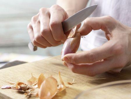 Champignon-Frischkäse-Creme: Zubereitungsschritt 2