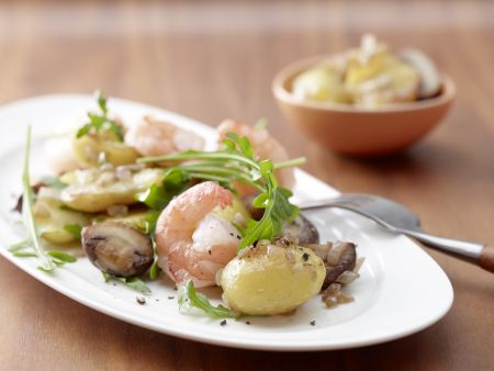 Champignon-Kartoffeln