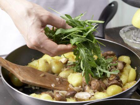 Champignon-Kartoffeln: Zubereitungsschritt 12