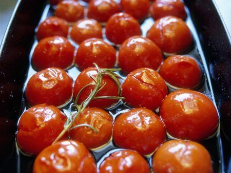 Cherrytomaten in Marinade