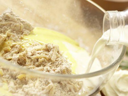 Chili-Cheddar-Brötchen: Zubereitungsschritt 5
