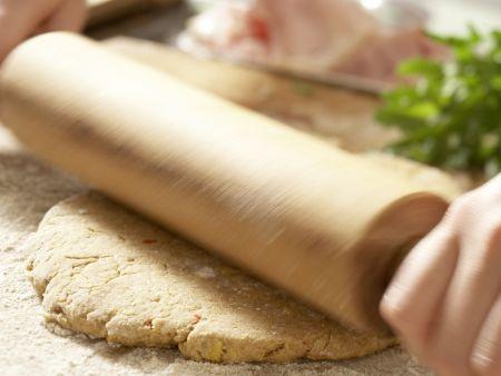Chili-Cheddar-Brötchen: Zubereitungsschritt 6