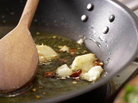 Chili-Knoblauch-Spaghetti: Zubereitungsschritt 4