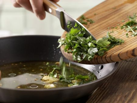 Chili-Knoblauch-Spaghetti: Zubereitungsschritt 6
