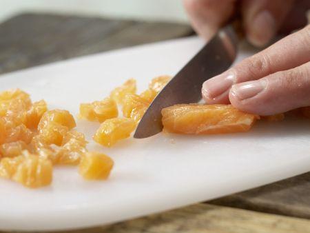 Chinakohl-Brei mit Lachs: Zubereitungsschritt 5