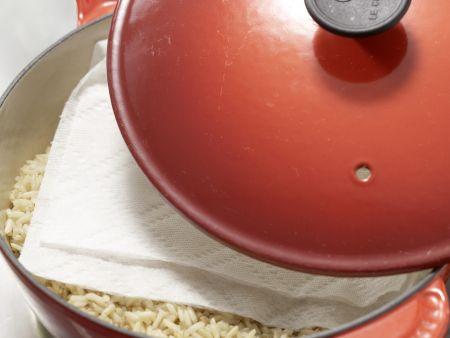 Chinakohl – gerollt und gefüllt: Zubereitungsschritt 1